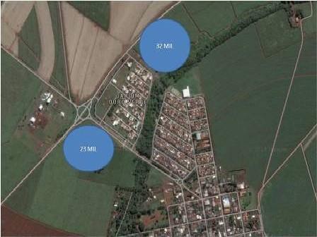 Imóvel: Area em Sertaozinho no Bairro Cruz Das Posses